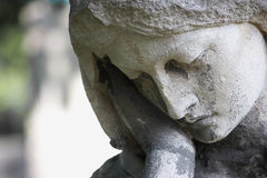 Face of a woman (statue)