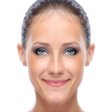 Face of young woman Stock Photo