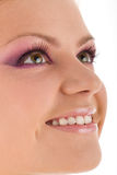 Face of a young woman Stock Image