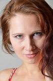 Face of young woman Royalty Free Stock Photo