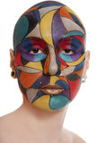 Faceart Royalty Free Stock Image
