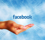 Facebook概念 免版税库存照片
