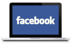 Facebook社会媒介概念 免版税图库摄影