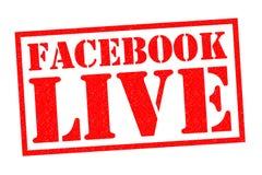 facebook ζήστε Στοκ φωτογραφίες με δικαίωμα ελεύθερης χρήσης