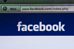 Facebook Stockbild