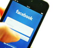 Facebook Images libres de droits