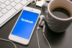 Facebook photographie stock libre de droits