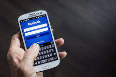 Facebook Lizenzfreie Stockfotos