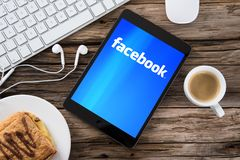 Facebook Στοκ φωτογραφίες με δικαίωμα ελεύθερης χρήσης