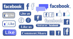 Facebook Images stock