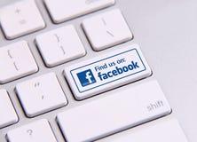 Facebook Royalty-vrije Stock Afbeelding