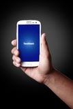 Facebook Photographie stock