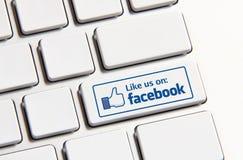 Facebook Stock Foto