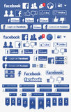 Facebook illustrazione vettoriale