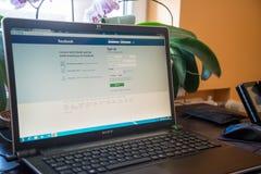 facebook Stockbild