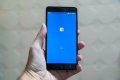 Facebook Immagine Stock