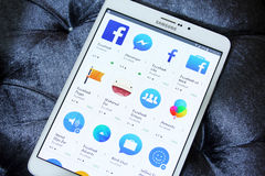 Facebook apps on google play store