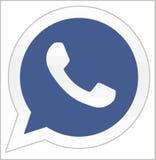 Facebook buys Whatsapp Stock Photos