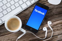 Facebook concept Royalty Free Stock Image