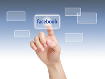 Facebook Concept Royalty Free Stock Images