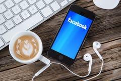 Facebook concept Royalty Free Stock Photo