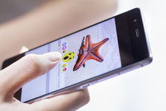 Facebook desarrolla cinco nuevos botones de las reacciones Imagen de archivo