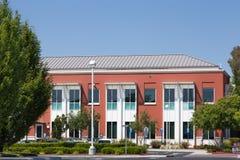 Facebook företags högkvarteruniversitetsområde i Silicon Valley Royaltyfri Foto