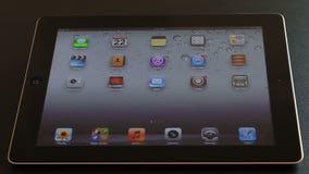 Facebook on iPad 3 stock footage