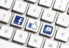 Facebook Royalty Free Stock Photos