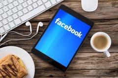 Facebook-Konzept Lizenzfreie Stockfotografie