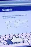 Facebook like icon Royalty Free Stock Images