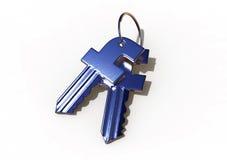Facebook ochrony klucze Zdjęcie Stock
