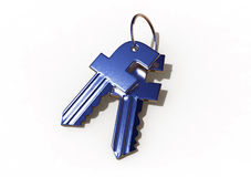 Facebook Security Keys Stock Photo