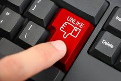 Facebook Unlike zdjęcie stock