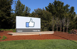 Facebook World Headquarters Stock Photos