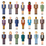 Faceless Business Crowd Royalty Free Stock Photo