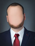 Faceless businessman Stock Photo