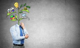 He knows how to earn money Royalty Free Stock Images