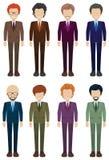 Faceless businessmen Stock Image