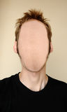 faceless huvud arkivbild
