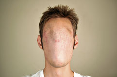 Faceless Man Stock Photo