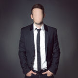 Faceless stock images