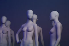Faceless mannequins Royalty Free Stock Images