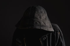 Faceless unrecognizable man without identity Royalty Free Stock Image