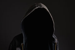 Faceless unrecognizable man without identity royalty free stock images