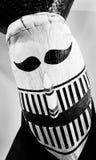 Facemask av spöken Arkivfoton