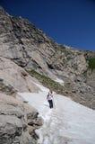 Facendo un'escursione in Colorado Fotografia Stock