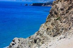 Facendo un'escursione in Creta Immagine Stock