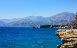 Facendo un'escursione in Creta Fotografia Stock