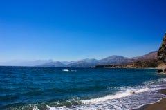 Facendo un'escursione in Creta Immagini Stock